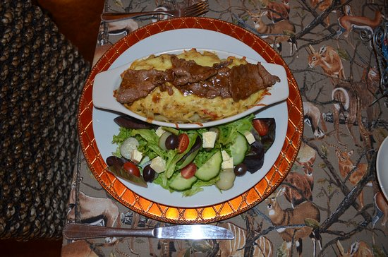 Greater Addo, South Africa: Pasta mit Kudufilet-sensationell
