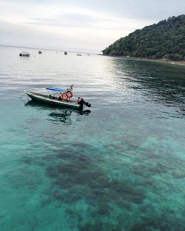 DiveAsia Tioman : Clear waters in Salang Bay