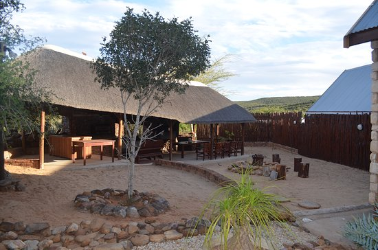 Greater Addo, South Africa: Gemütlicher Grillplatz