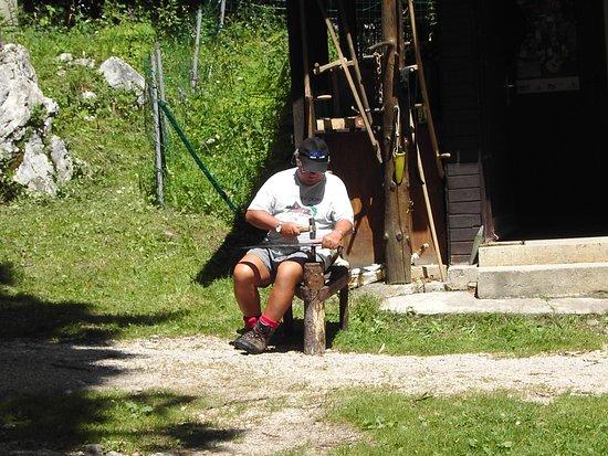 Bohinjsko Jezero, Σλοβενία: Kosijev dom na Vogarju