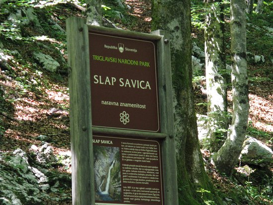 Bohinjsko Jezero, Σλοβενία: Slap Savica