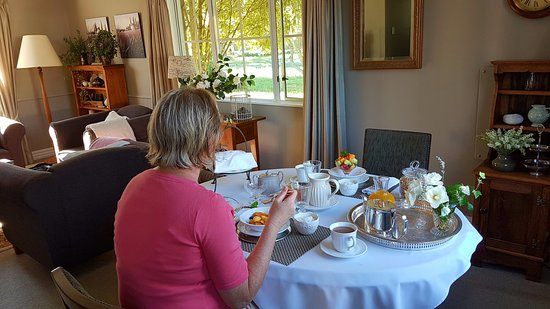 Hillsfield House Bed and Breakfast Marlborough: Beautiful breakfast