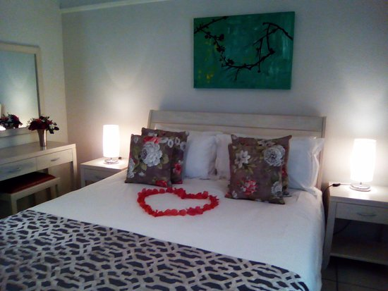 Calitzdorp, Sydafrika: When we know its a romantic break we make sure its special!