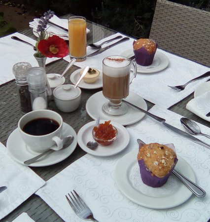 Calitzdorp, South Africa: Breakfast muffins
