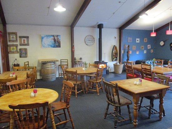 Geraldine, นิวซีแลนด์: Cafe and Music Area