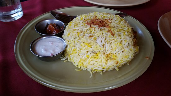 Anjuna, India: Biryani