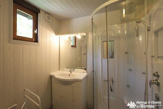 Metzeral, Prancis: Salle d'eau du Grand chalet 3 chambres - 6 personnes