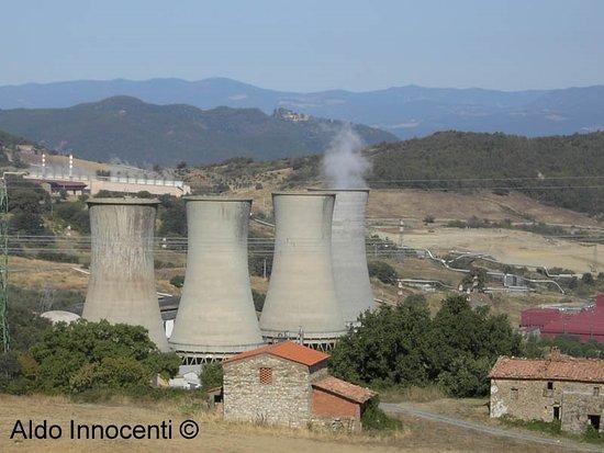 Pomarance, Italie : Soffioni Boraciferi