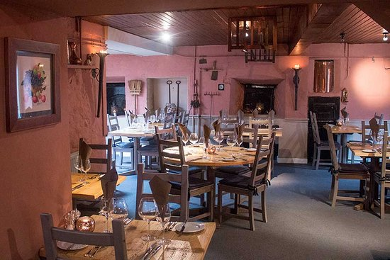 West Linton, UK: Restaurant Interior