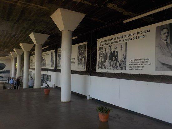 Loma de Tiscapa : former prison area