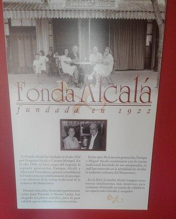 Calaceite, Spain: Los fundadores de la Fonda Alcalá