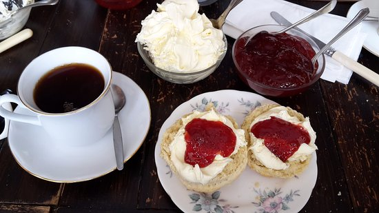 Newton Poppleford, UK: The best cream tea