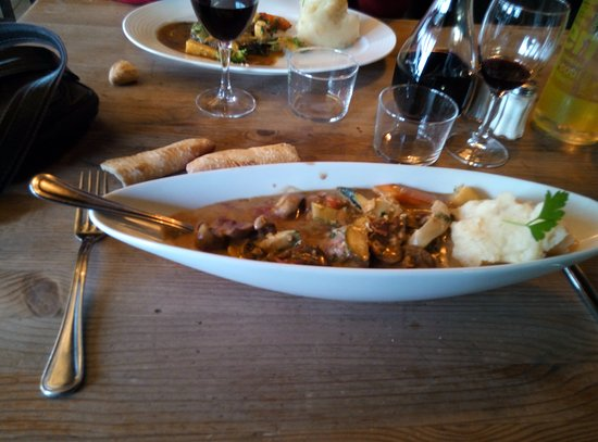 Langon, Francia: rognons de veau