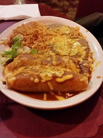 Tonopah, NV: Two Cheese Enchiladas