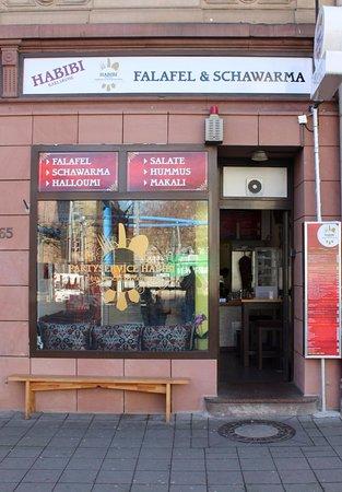 Schawarma Und Falafel Karlsruhe Habibi Picture Of Habibi Karlsruhe