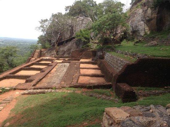 Citadel of Sigiriya - Lion Rock: Halfway up the rock (or halfway down!)