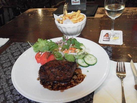 Photo of Belgian Restaurant Cafe Quinten Matsijs at Moriaanstraat 17, Antwerp 2000, Belgium