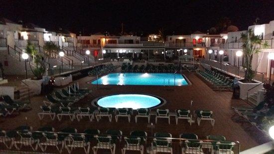 Bitacora Club: Night view from balcony