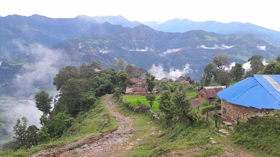 Gandaki Zone, Nepal: View from Heaven Hill homestay