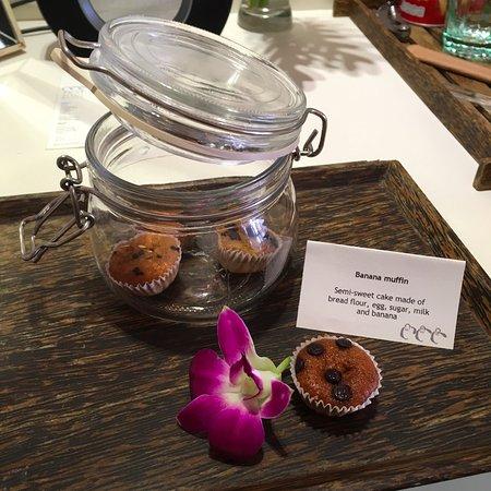 Rest Detail Hotel Hua Hin: Complimentary: Banana Cupcake