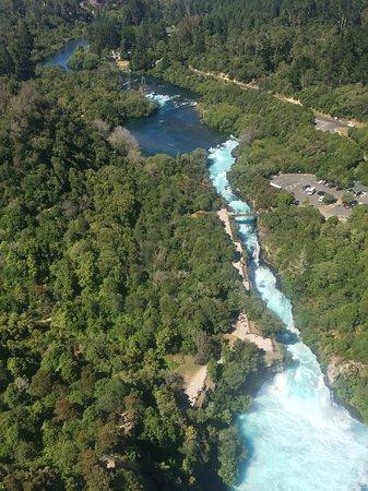Huka Lodge: Falls