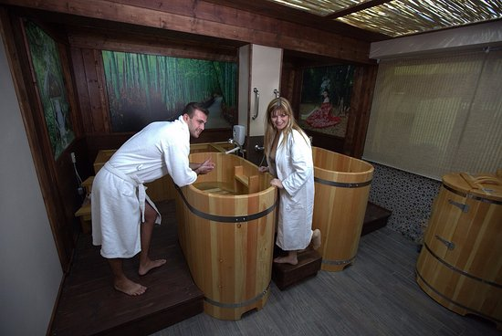 Nirvana Japanese Spa: японская баня офуро