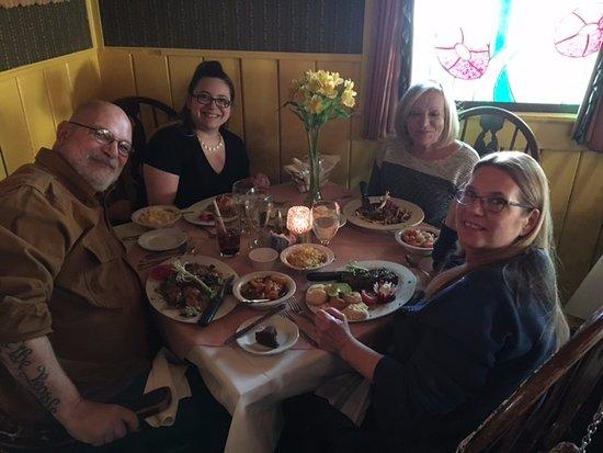 Madison, Wirginia: Birthday Dinner success