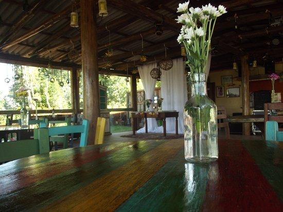 Quedas do Iguacu, PR: Ótima gastronomia, ambiente rústico e boa música