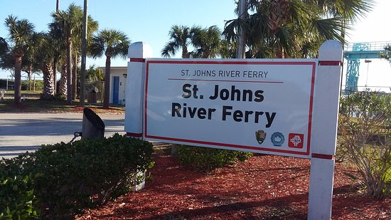 Atlantic Beach, FL: Entrance to the Ferry