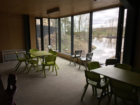 Driffield, UK: The new Tophill Low centre.