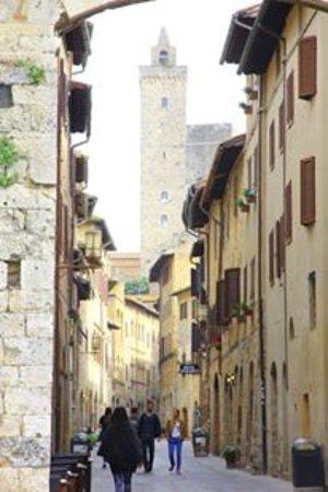 San Gimignano 1300: 聖吉米尼亞諾街景