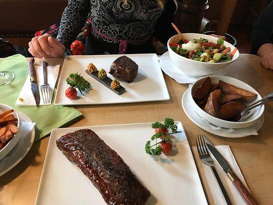 Alpirsbach, Germany: Zwickel & Kaps und Mi & Si Steakhouse