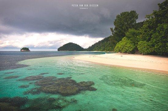 Pulau Wayag: point of registration