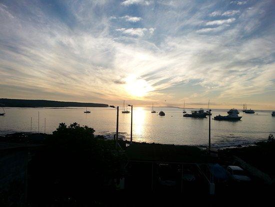 Sunrise view from Grand Hotel Lobo de Mar