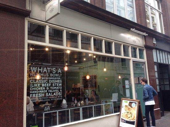 Photo of Middle Eastern Restaurant Hummus Bros at 88 Wardour Street, London W1F 0TH, United Kingdom