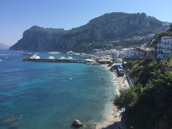 J.K.Place Capri: View from the main terrace