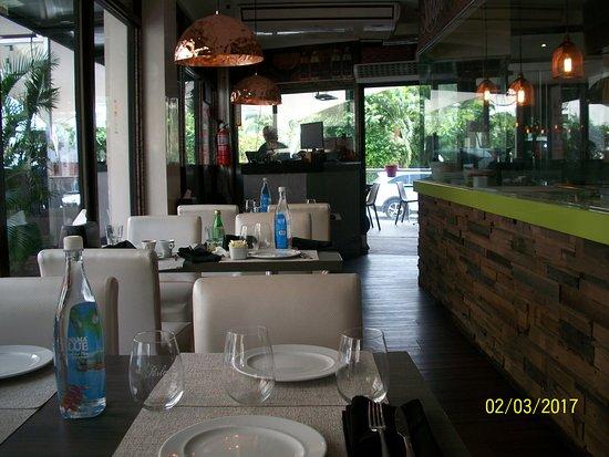 Marrush: interior view of restaurant