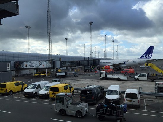 Kastrup, Dania: O'Learys T2 Airside at the CPH