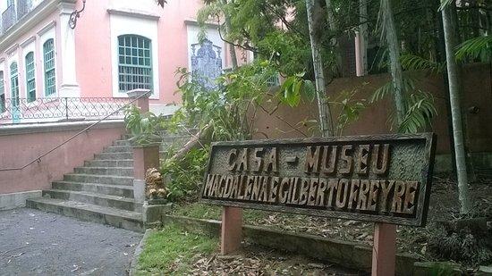 Casa-Museu Magdalena & Gilberto Freyre: Área externa