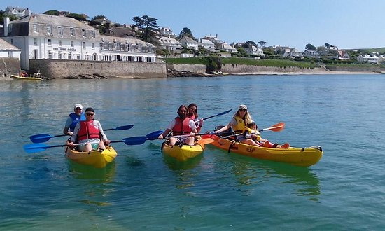 St Mawes, UK: Clear waters and blue skies