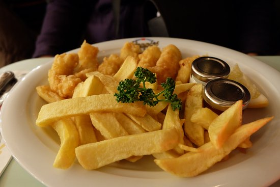 Poppies Fish & Chips: Scampi
