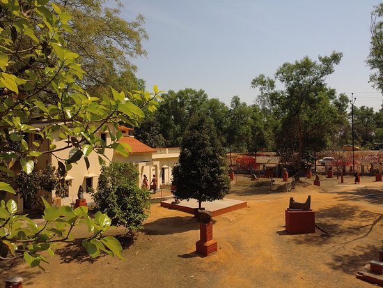 Santiniketan, India: Outside view