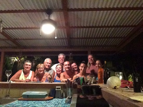 Great Time at Casa Bambora with owners and guests.