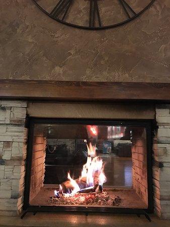Razlog, บัลแกเรีย: log fire