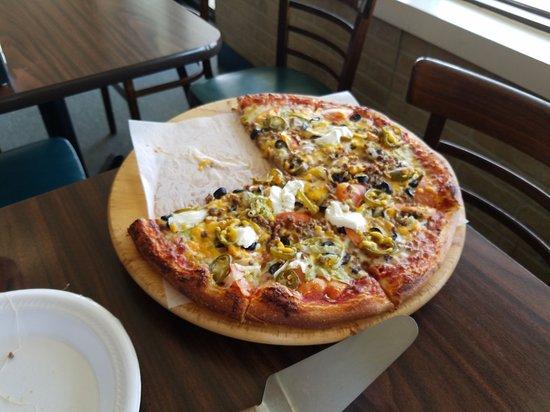 Laurel, MD: Taco pizza!