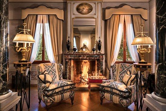 Salotto Di Romantica.Salotto Romantico Foto Di Villa Margherita Hotel Mira