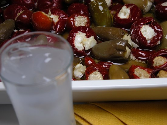 mexican pepper and raki !