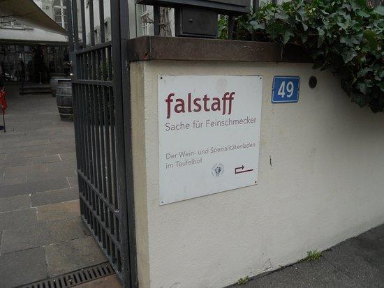 Der Teufelhof Basel : Eingangsbereich