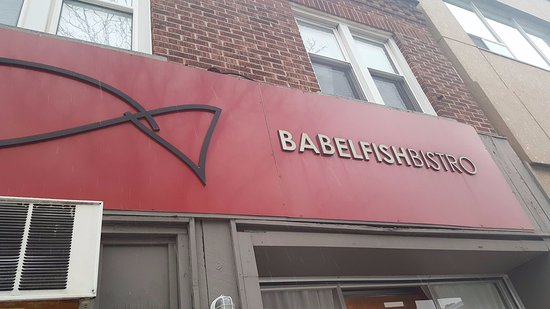 Babelfish Bistro : Don't let the name fool you