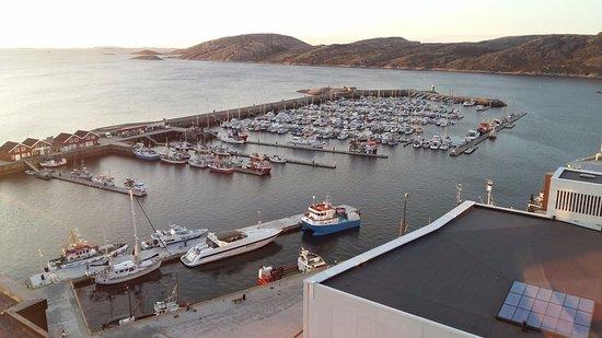 Bodø, Norge: Vista do bar panorâmico